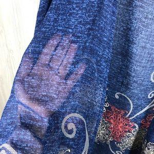 Jackets & Coats - Blue kimono